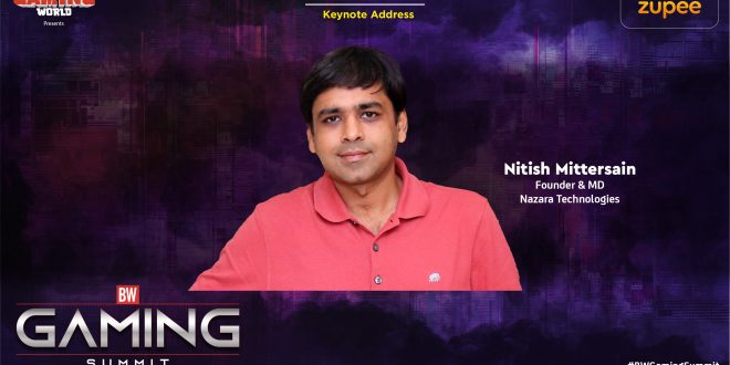 Nitish Mittersain, Nazara Tech
